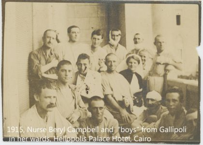 Beryl Campbell Gallipoli